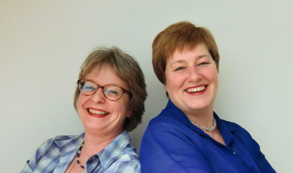 Katharina Schlumpp und Gabriele Benke